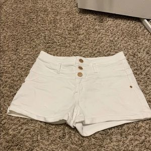 Women's never worn white shorts size 11